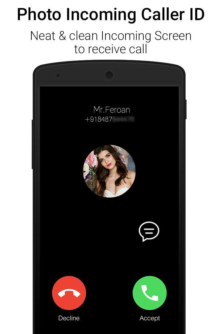 Black Caller Screen Dialer for Android - APK Download