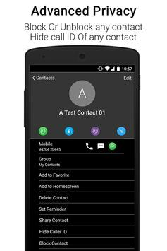 Black Caller Screen Dialer screenshot 10