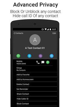 Black Caller Screen Dialer screenshot 2