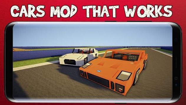 Cars for Minecraft PE screenshot 4