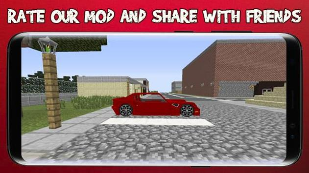 Cars for Minecraft PE screenshot 11