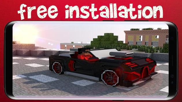 Cars for Minecraft PE screenshot 1