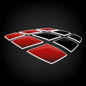 Black Telematics Box icon