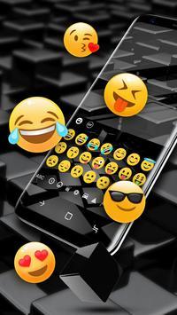 Black Cube Cool Keyboard for Huawei 10 screenshot 5