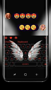 Angel Wings keyboard Theme poster