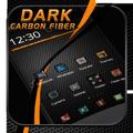 Black Carbon Fiber Theme