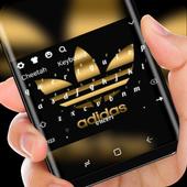 Black Gold adidas icon