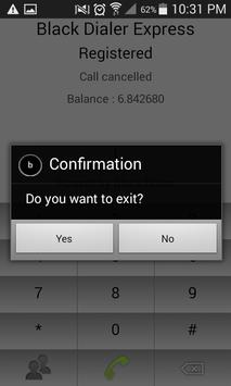 Black Dialer Express apk screenshot