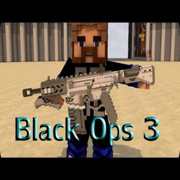 Black Ops 3 for Minecraft PE poster