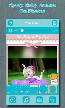 Baby Photo to Video Maker screenshot 5
