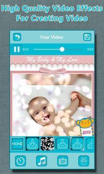 Baby Photo to Video Maker screenshot 6