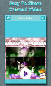 Baby Photo to Video Maker screenshot 7