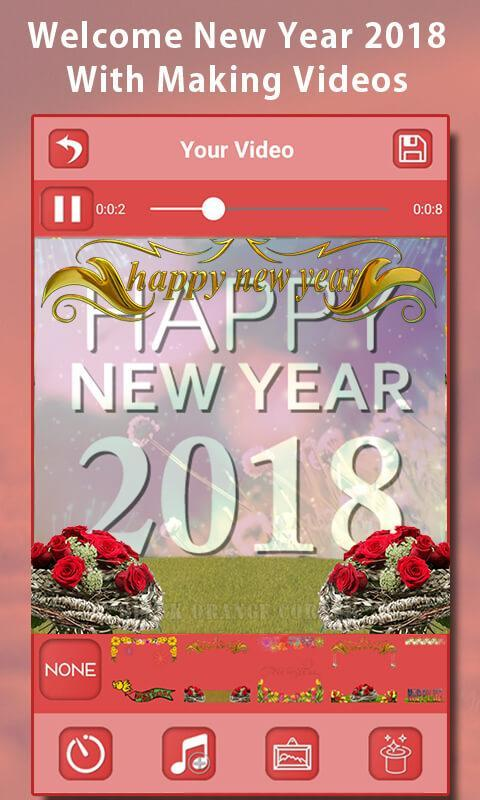 Happy New Year Video Maker for Android - APK Download