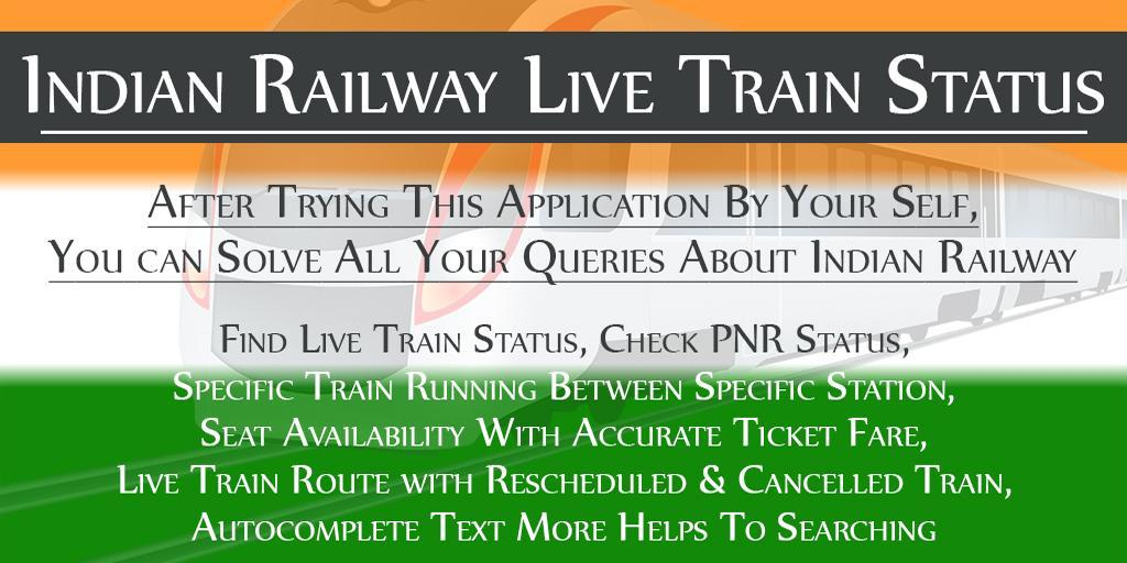 By Photo Congress || Indian Rail Live Train Status App Download