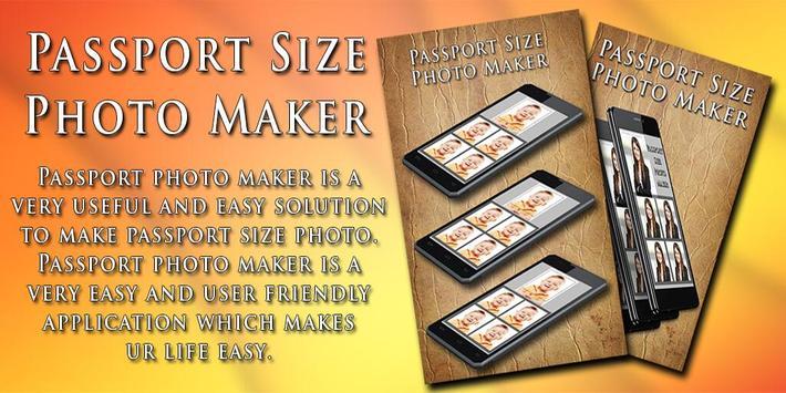 Passport Visa Photo Maker poster