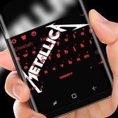 Black Keyboard for Metallica icon