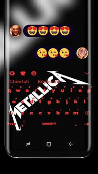 Black Keyboard for Metallica poster
