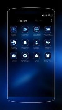 black tech neon cool apk screenshot