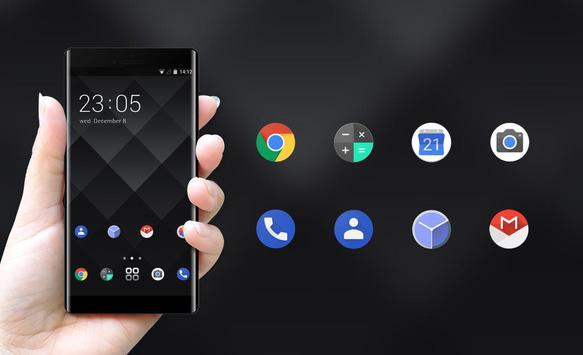 Theme for BlackBerry KEYone HD screenshot 3