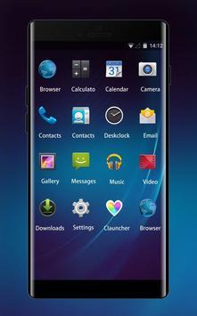Theme for BlackBerry Porsche Design P9982 screenshot 1