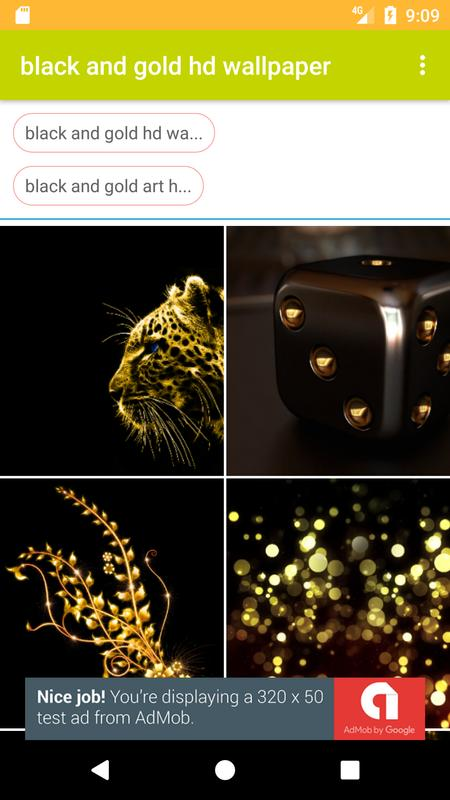 Black And Gold Hd Free Wallpaper For Android Apk Download