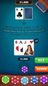Blackjack 21 screenshot 8