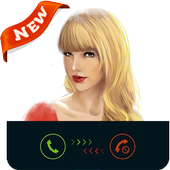 Call from Taylor-swift Prank icon