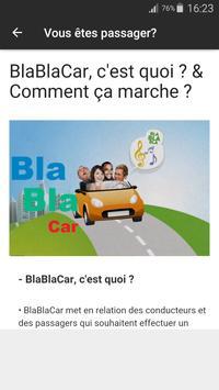 BLABLACAR Carpool Guide apk screenshot