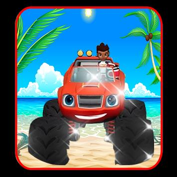 Blaze machines truck monster apk screenshot