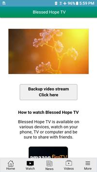Blessed Hope TV screenshot 1