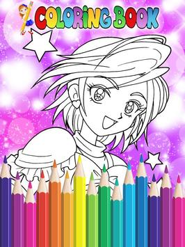 How To Color Pretty Cure - Coloring Book Free screenshot 4