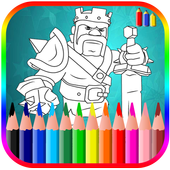 Coloring Book For Clash Of Clans icon