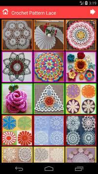 Crochet Pattern Lace poster