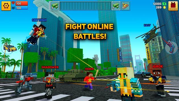 Block City Wars + skins export apk screenshot