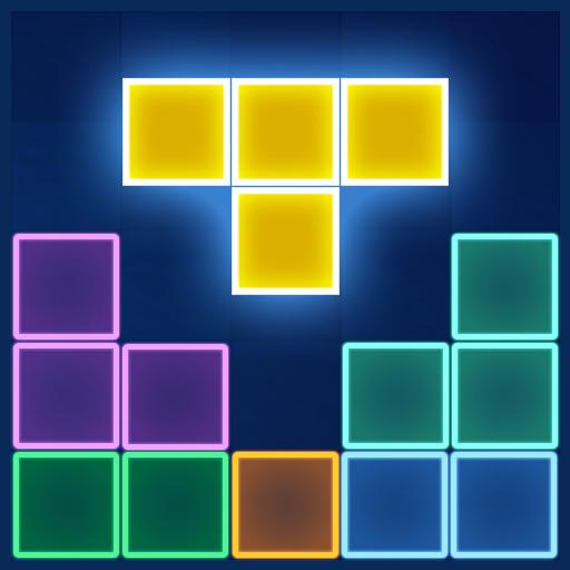 Block Puzzle Glow