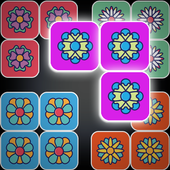Block puzzle Flowers icon