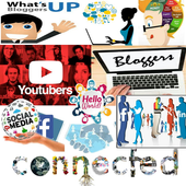 Bloggers Youtubers Groups icon