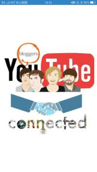 Bloggers Youtubers Groups poster