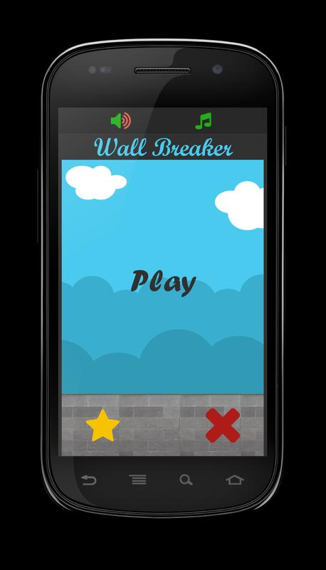 Wall breaker apk download free arcade game for android for Picture on wall app