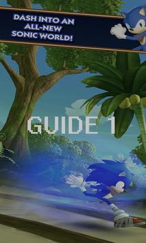 Best Guide Sonic Dash poster