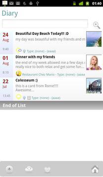 MyLifebook Diary Free screenshot 9