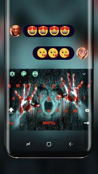 Horror Evil Spirit Keyboard Blood Nightmare poster
