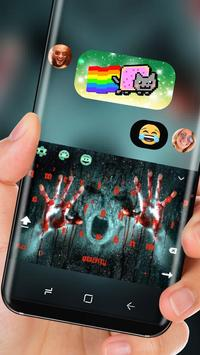 Horror Evil Spirit Keyboard Blood Nightmare screenshot 2