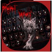 Blood Wolf Keyboard Theme icon