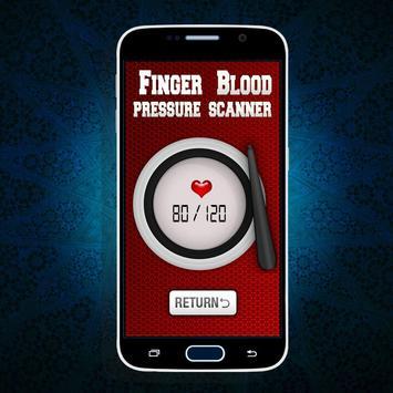 Finger BP Blood Pressure Prank screenshot 8