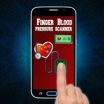 Finger BP Blood Pressure Prank screenshot 1