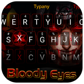 Bloody Ninja Theme&Emoji Keyboard icon