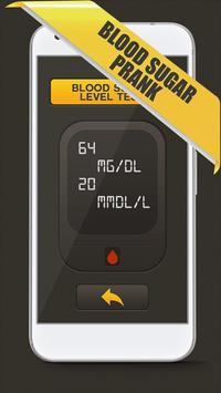 Blood Sugar Test Checker Prank apk screenshot