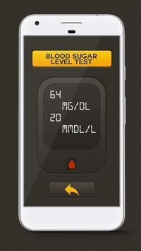 Blood Sugar Test Checker Prank poster
