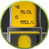 Blood Sugar Checker Test Prank icon